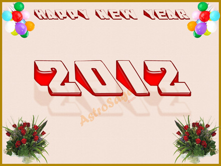 Greetings for New Year 2012