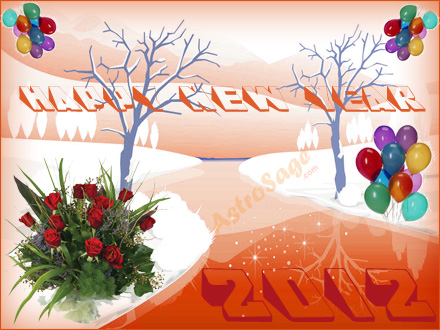 New Year Greeting Cards for 2012