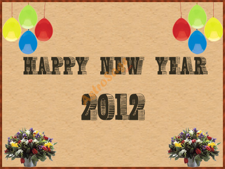 2012 New Year Greeting Cards