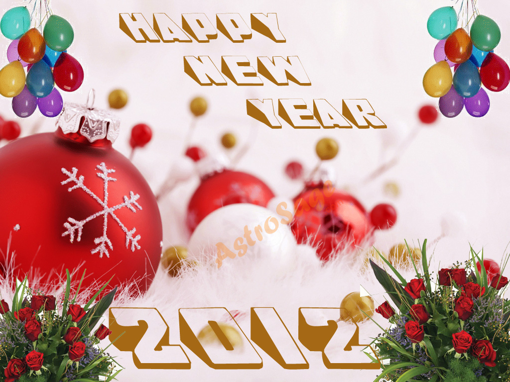 Download Greeting Cards for New Year 2012