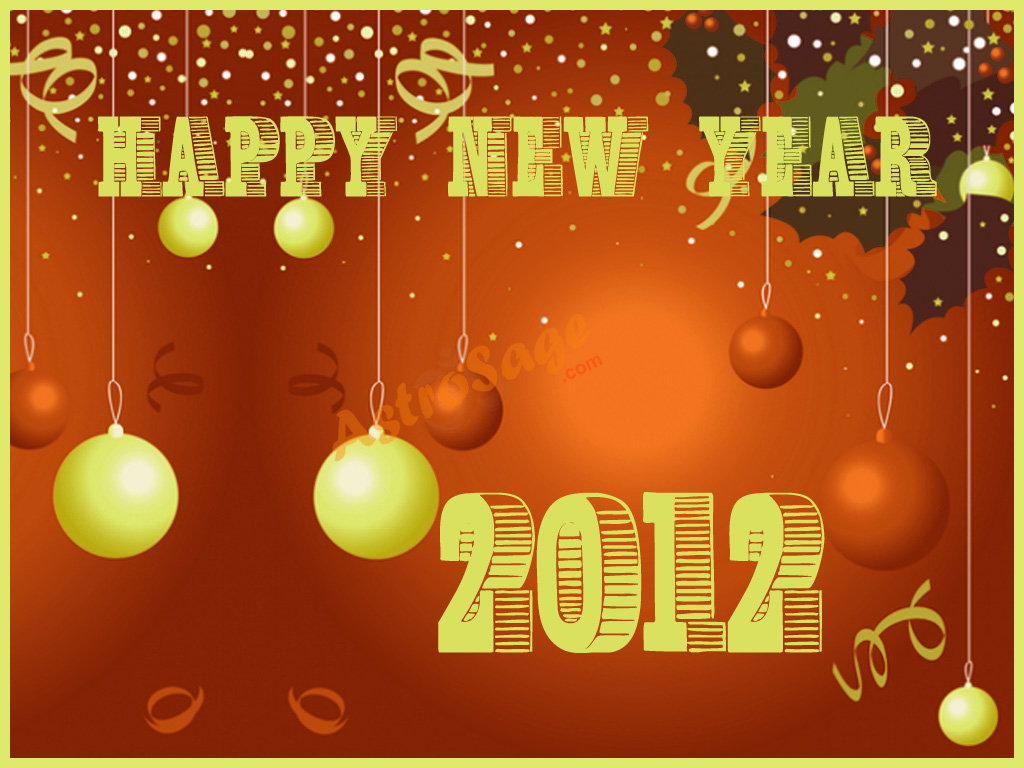 Greeting Cards For New Year 2012