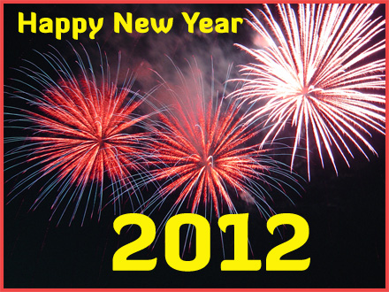 Greetings of Happy New Year 2012