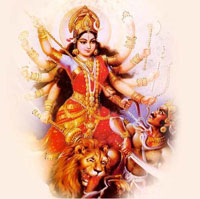 Sharad Navratri is dedicated to Goddess Durga