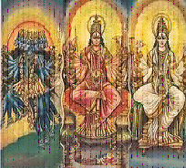 Various forms of Goddess