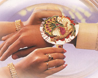 Raksha Bandhan is a festival dedicated to the relationship of brother and sister.