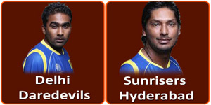 Delhi Daredevils vs Sunrisers Hyderabad
