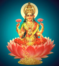Dhanteras is a festival that celebrates wealth by worshipping Maa Laxmi