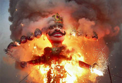 killing Raavan is the essence of Dussehra