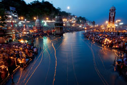 Ganga Dussehra celebration is incredibly beautiful at Varanasi