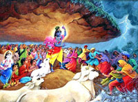 Govardhan festival is not only about Lord Krishna, it also commemorates mother nature