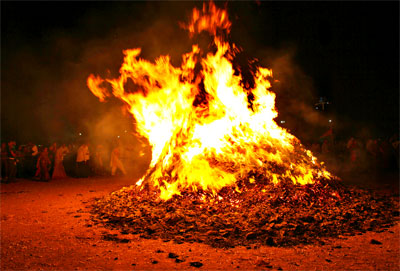 The End of Evil, Holika Dahan