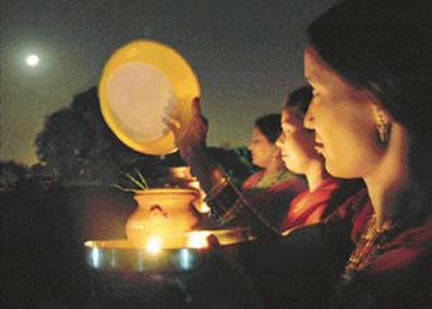 Karva Chauth is on Tuesday, 22 october