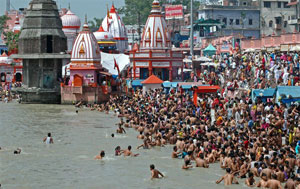 Maha Kumbh in 2013 is being held at Allahabad