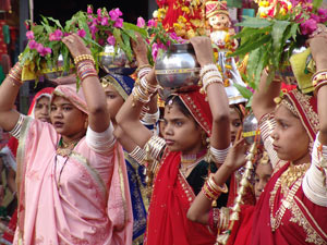 Goddess Parvati is worshipped on Teej festival