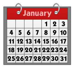 Public Holidays of 2014