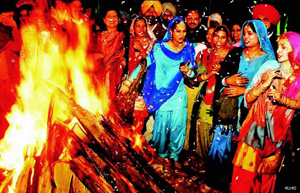 Lohri is the festival celebrating longest night of the year.