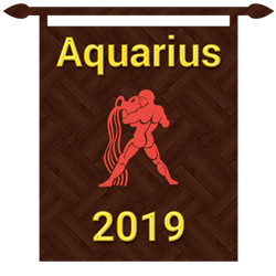 Aquarius horoscope 2019 is here to help you plan your year ahead.