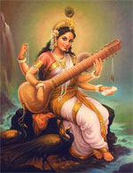 Birth of Saraswati