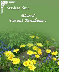 Basant Panchami is the day of art and wisdom, dedicated to Goddess Saraswati