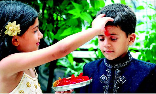 Bhai Dooj in 2014 will be celebrated on October 25 across the globe.