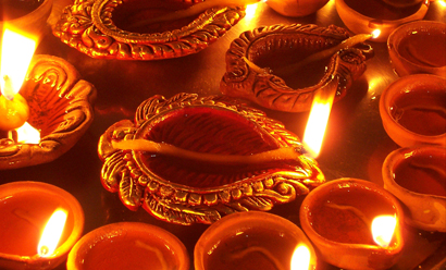 Diwali 2017 or Deepavali venerates Goddess Kali and Lakshmi.