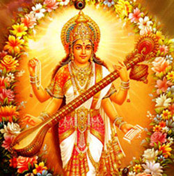 Basant Panchami is dedicated to Goddess Saraswati