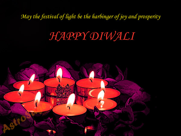 greeting of diwali festival
