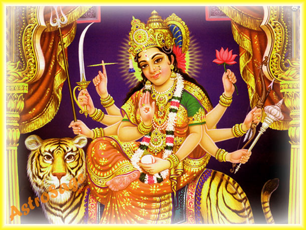 Durga Puja greetings for download