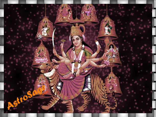 Greetings of Durga Puja festival