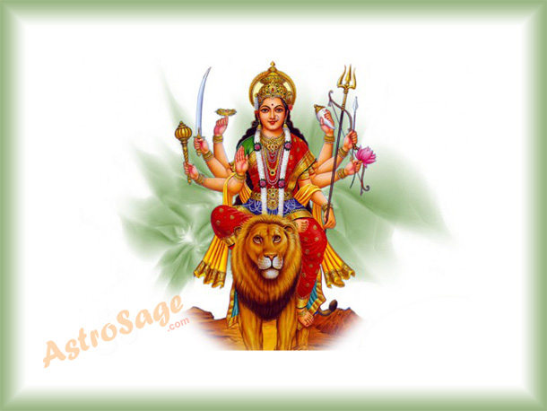Greetings of navratri festival