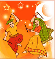 Gujarat celebrates Navratri with the traditional folk dance, Garba.