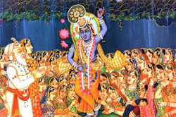 Krishna is also known as �Goverdhan Dhari� for lifting Govardhan Parvat.