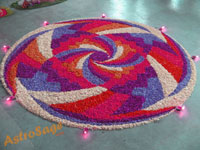 The festival of Onam is celebrated with great fervor in Kerala