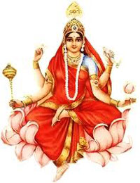 Devi Siddhidatri is Worshiped on the ninth day of Navratri festival