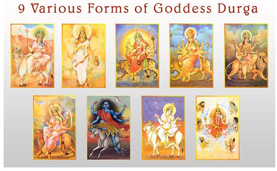 Worship Maa Durga in her nine forms during Navratri and end all sufferings from your life.
