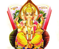 Vinayaka Chavithi or Vinayaka Chaturthi is the birthday of Lord Ganesha