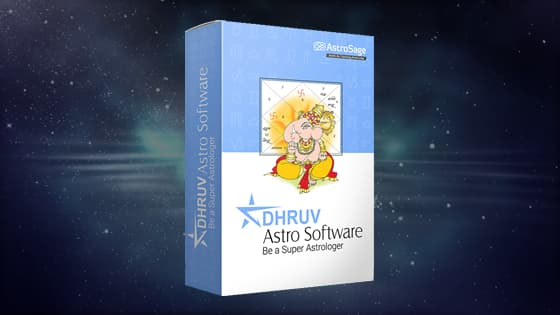 Dhruv Astro Software