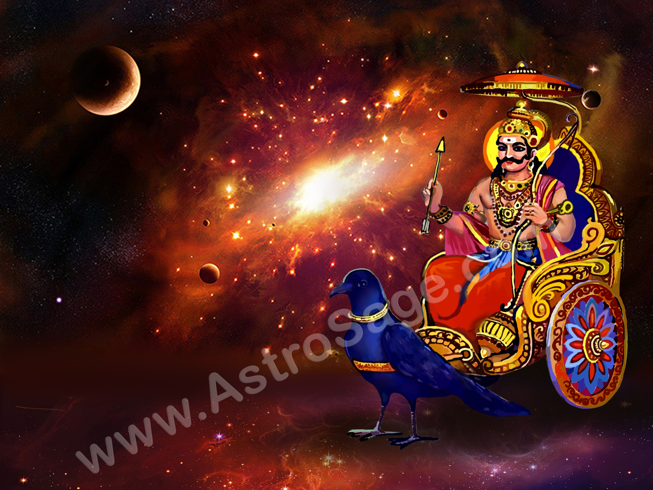 Sade Sati is governed by Lord Shani as per Vedic Astrology