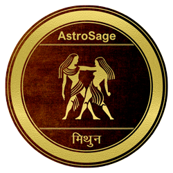 Symbol of Mithun zodiac sign