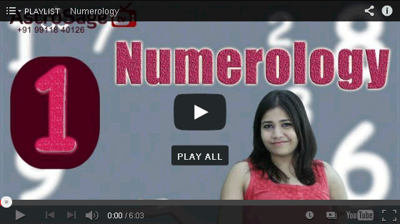 Lucky Number Characteristics in Hindi