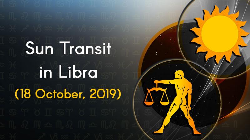 Sun Transit in Libra - 18 October 2019