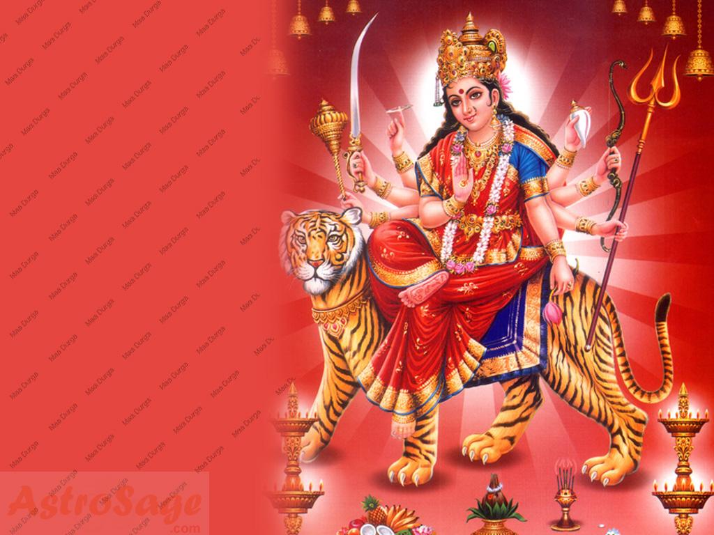 Maa Durga Wallpaper Wallpaper Of Durga