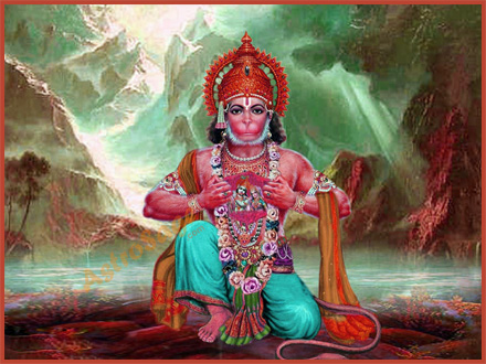 Free Wallpapers of God Hanuman