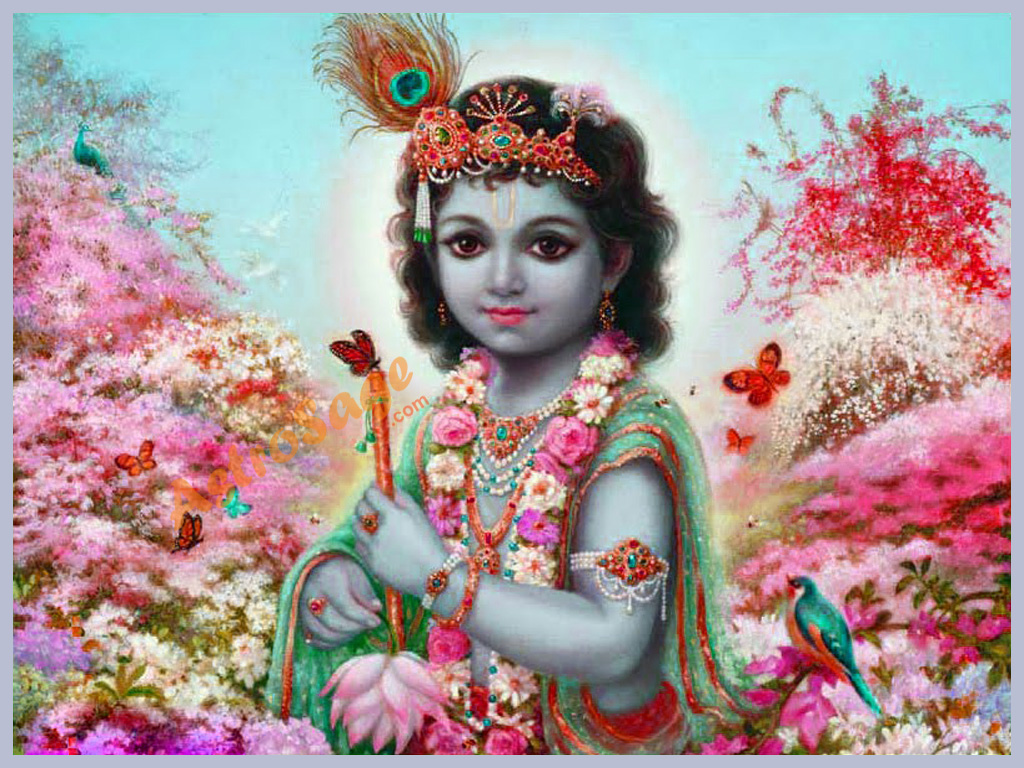 Krishna wallpaper wallpaper of krishna - God images wallpapers ...