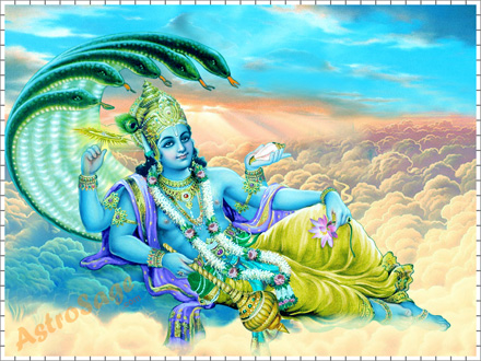 Free Wallpapers of Vishnu