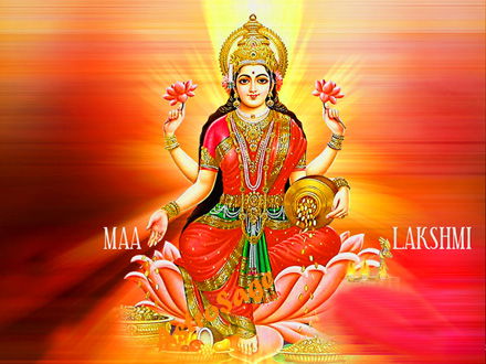 Free Wallpapers of Lakshmi