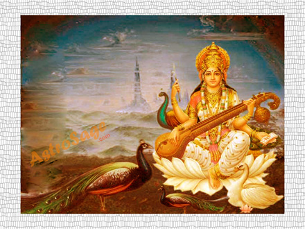 Free Goddess Saraswati Wallpapers