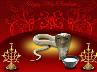 Snakes are worshipped on Nag Panchami