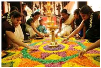 Onam is one of the most popular Hindu festivals of Kerala