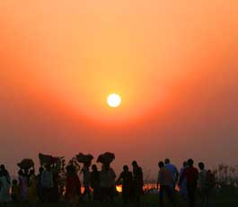Chhath pooja is celebrated with faith and devotion toward the Lord Sun